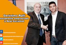 Gerónimo Rulli novamente emprestado à Real Sociedad