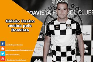 Gideão Castro assina pelo Boavista