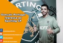 Gonçalo Portugal regressa ao Sporting