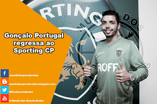 Gonçalo Portugal regressa ao Sporting
