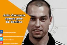 João Carrusca renova pelo SL Benfica