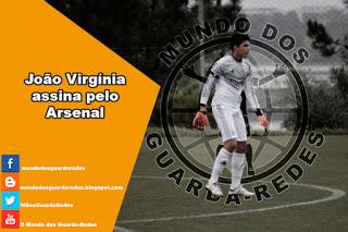 João Virgínia assina pelo Arsenal