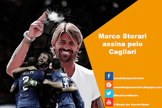Marco Storari assina pelo Cagliari