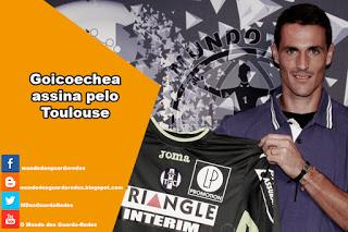 Mauro Goicoechea assina pelo Toulouse