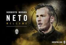 Neto oficializado pelo Juventus