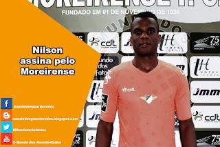 Nilson assina pelo Moreirense