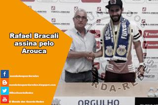 Rafael Bracali assina pelo Arouca
