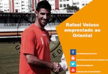 Rafael Veloso emprestado ao Oriental