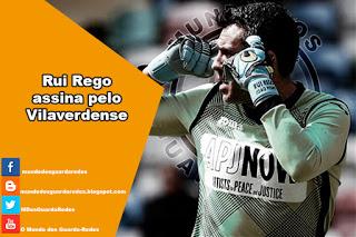Rui Rego assina pelo Vilaverdense