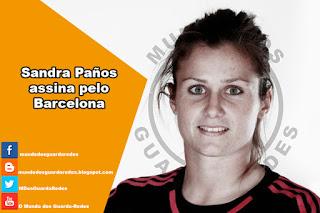 Sandra Paños assina pelo Barcelona