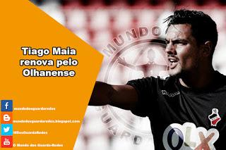 Tiago Maia renova pelo Olhanense