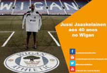 Jussi Jääskeläinen assina pelo Wigan aos 40 anos