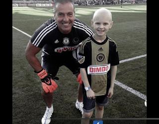 Paulo Grilo fez jovem com cancro sorrir – Cameron McCarthy luta com os Philadelphia Union