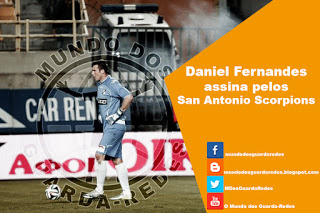 Daniel Fernandes assina pelos San Antonio Scorpions