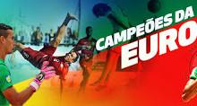Elinton Andrade e Tiago Petrony campeões da Europa de Futebol de Praia por Portugal
