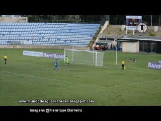 Pedro Freitas defende penalti e Mickaël Meira defende-lhe o decisivo na Taça da Liga – Santa Clara 1-1 Atlético CP