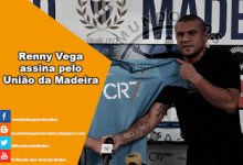 Renny Vega assina pelo União da Madeira