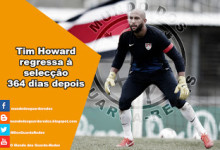 Tim Howard regressa à selecção dos Estados Unidos