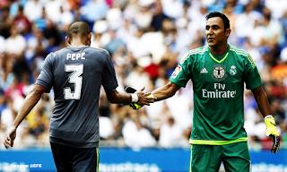 Keylor Navas iguala recorde de Miguel Ángel, com três jogos consecutivos sem sofrer golos