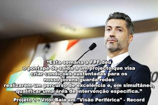 """Projeto 1 – Vítor Baía em """"Visão Periférica"""" – Record"""