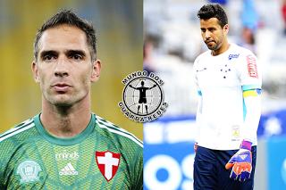 Fernando Prass e Fábio Deivson renovam por Palmeiras e Cruzeiro