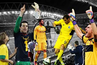 Iker Casillas v. Júlio César – Hugo Oliveira v. Juan Carlos Arévalo – O duelo de luvas do século