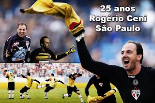 Rogério Ceni festeja 25 anos de São Paulo
