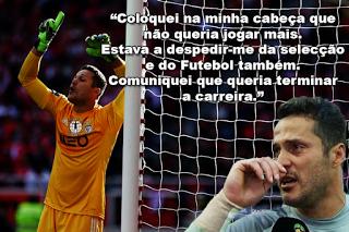 Júlio César em entrevista ao jornal A Bola