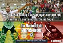 """André Girão: """"Ser Guarda-Redes é ter de jogar sempre nos limites"""" – Dia Nacional do Guarda-Redes"""