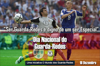 """Ricardo Pereira: """"Ser Guarda-Redes é digno de um ser Especial"""" – Dia Nacional do Guarda-Redes"""