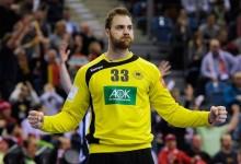 Andreas Wolff campeão Europeu de Andebol com 16 defesas no Alemanha 24-17 Espanha
