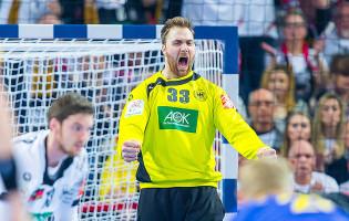 Andreas Wolff é o melhor em campo no Alemanha 27-26 Suécia – Europeu de Andebol'2016
