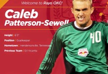 Caleb Patterson-Sewell assina pelo Rayo OKC