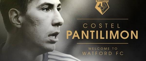 Costel Pantilimon assina pelo Watford FC