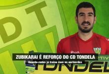 Eñaut Zubikarai assina pelo CD Tondela