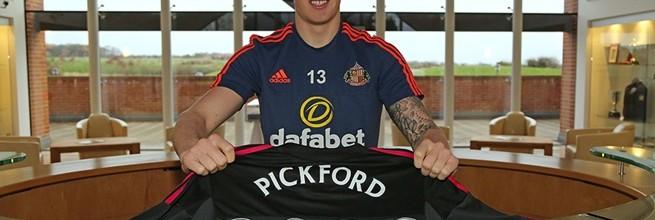 Jordan Pickford renova pelo Sunderland AFC