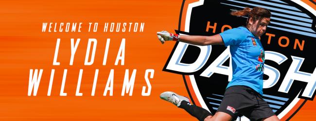 Lydia Williams assina com os Houston Dash
