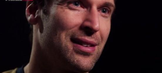 Petr Cech tornou-se guarda-redes por acaso