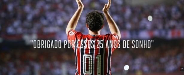 Rogério Ceni recebe site como prenda de anos do São Paulo