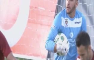 Tiago Mota, filho do Oriental, cumpriu sonho contra o SL Benfica com exibição segura
