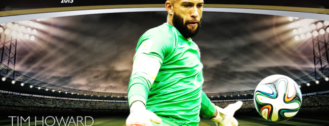 Tim Howard vence prémio CONCACAF Male Goalkeeper of the Year 2015