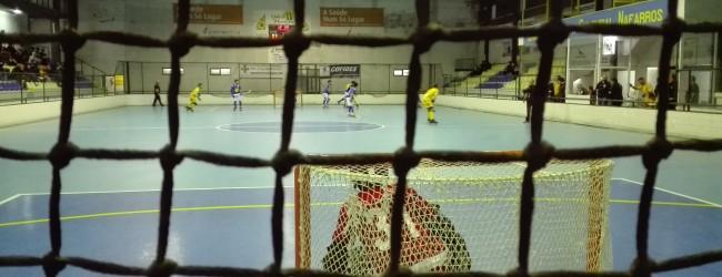 João Santos e Pedro Santos em destaque num jogo de golos no derby de Sintra – O Mundo dos Guarda-Redes sob Patins por Diogo Nunes