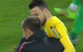 Subasic motiva palavras de Leonardo Jardim no Saint-Étienne 1-1 AS Monaco