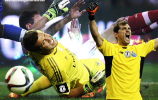 Júlio César v. Iker Casillas: na baliza está a virtude – SL Benfica v. FC Porto