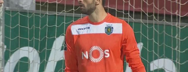 Rui Patrício chegou aos 250 jogos no CD Nacional 0-4 Sporting CP