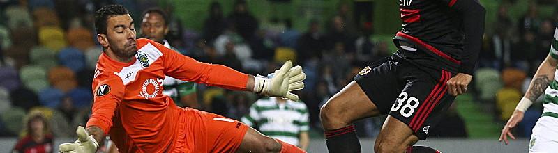 Rui Patrício iguala recorde de presenças pelo Sporting CP em jogos da UEFA