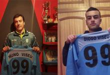 Nuno Viseu e Diogo Viseu: pai e filho guarda-redes marcam golo em 24 horas