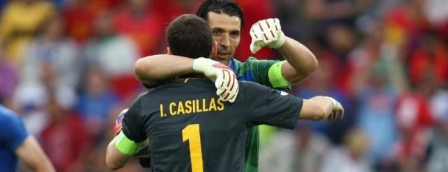 """Gianluigi Buffon: """"Eu e Iker Casillas não fomos jogadores normais"""""""