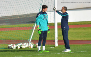 João Miguel Silva impressiona no primeiro treino pela seleção sub-21