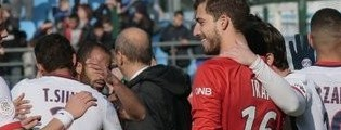 Kevin Trapp campeão da Ligue 1 com o PSG ao fim de 30 jornadas